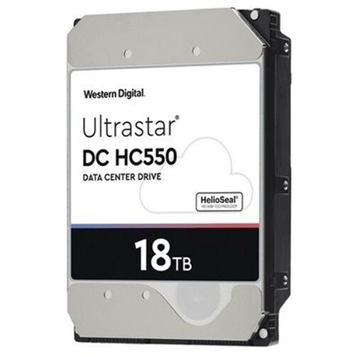 """WD 18TB UltraStar DC HC550 7200 rpm SATA III 3.5"""" Internal HDD"""