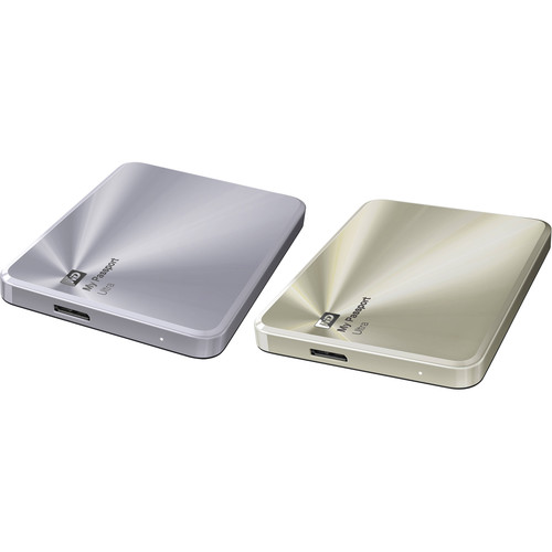 WD 2 x 2TB My Passport Ultra Metal Edition Kit (Gold & Silver)