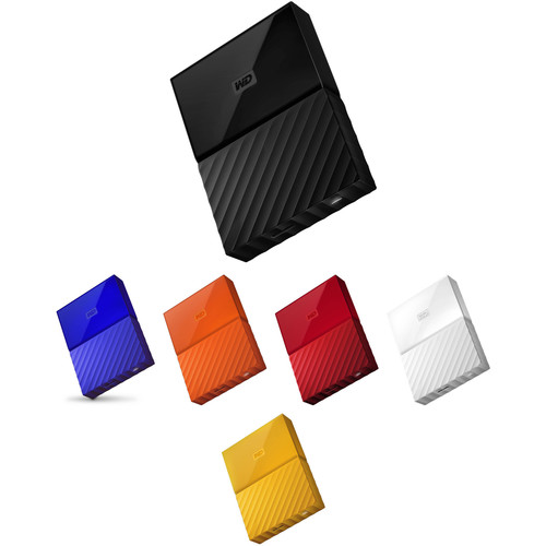 WD 4TB My Passport USB 3.0 Secure Portable Hard Drive Kit (Multiple Colors)