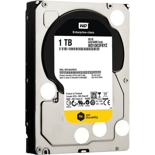 """WD 1TB Re Datacenter 7200 rpm SATA III 3.5"""" Internal HDD"""