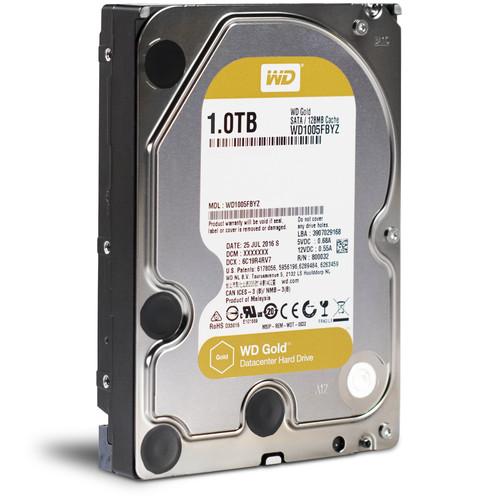"""WD 1TB Gold 7200 rpm SATA III 3.5"""" Internal Datacenter HDD"""
