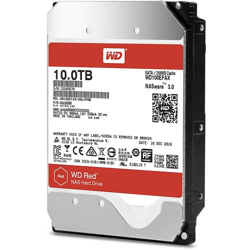 """WD 10TB Red 5400 rpm SATA III 3.5"""" Internal NAS HDD (OEM)"""