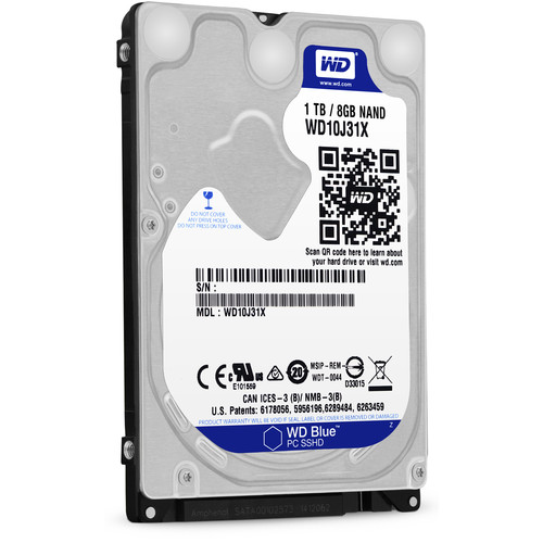 "WD 1TB Blue 2.5"" Solid State Hybrid Drive"