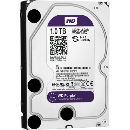 WD 1TB Purple Surveillance OEM Internal Hard Drive
