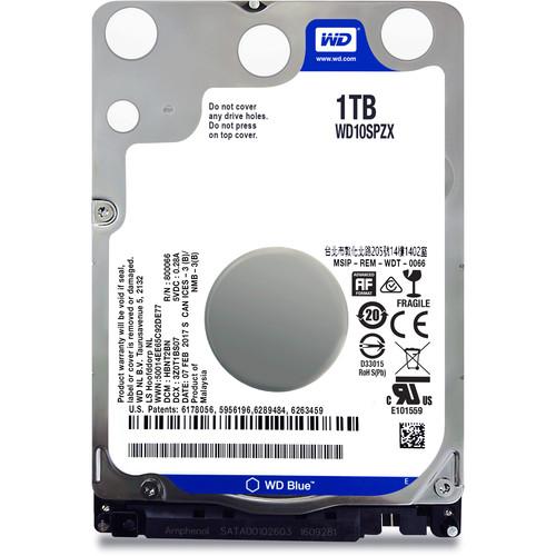 """WD 1TB Blue 5400 rpm SATA III 2.5"""" Internal HDD"""