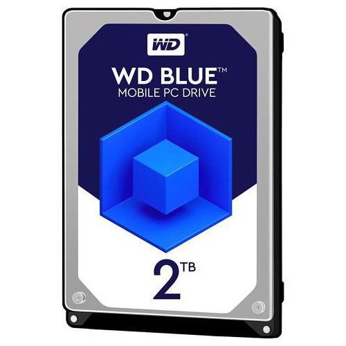 """WD 2.5"""" Blue PC Mobile Hard Drive (2TB, 128MB Cache)"""