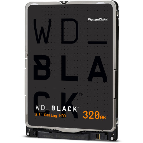 WD 320GB WD Black Mobile OEM Hard Drive (WD3200LPLX)