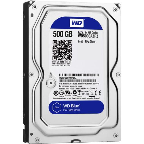 """WD 500GB Blue 3.5"""" Hard Drive"""