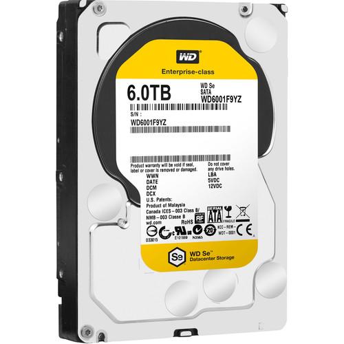 WD 6TB Se Datacenter OEM Hard Drive