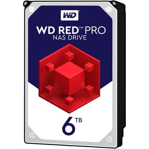 """WD 6TB Red Pro 7200 rpm SATA III 3.5"""" Internal NAS HDD"""