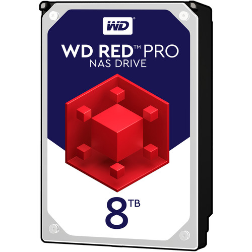 "WD 8TB Red Pro 7200 rpm SATA III 3.5"" Internal NAS HDD"