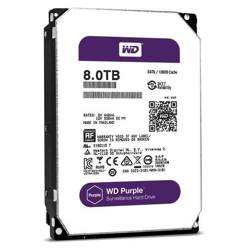 """WD 8TB Purple 5400 rpm SATA III 3.5"""" Internal HDD"""