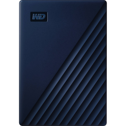 WD 2TB My Passport for Mac USB 3.0 External Hard Drive (Midnight Blue)