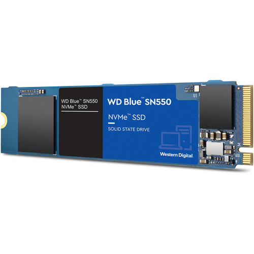 WD 250GB Blue SN550 NVMe M.2 Internal SSD