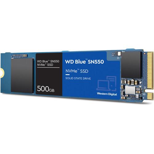 WD 500GB Blue SN550 NVMe M.2 Internal SSD