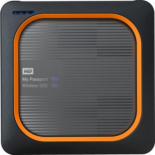 WD 500GB My Passport Wireless SSD