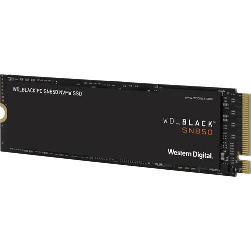 WD 1TB WD_Black SN850 Gaming Internal NVMe PCIe 4.0 SSD without Heatsink