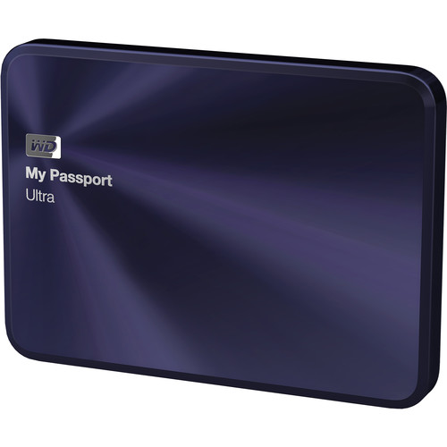 WD 4TB My Passport Ultra Metal Edition (Blue/Black)
