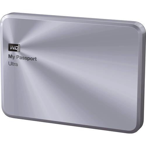 WD 4TB My Passport Ultra Metal Edition (Silver)