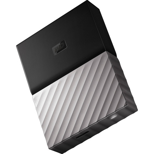 WD 4TB My Passport Ultra USB 3.0 External Hard Drive (Black/Gray)