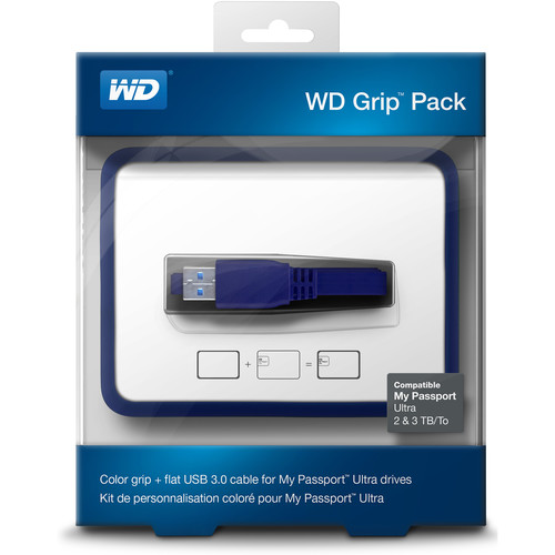 WD Grip Pack for 2TB & 3TB My Passport Ultra (Slate)
