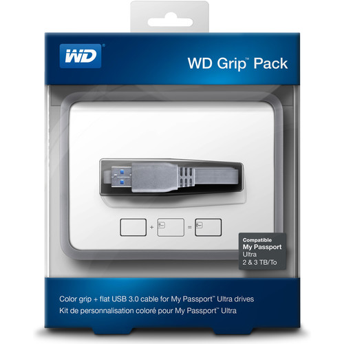 WD Grip Pack for 2TB & 3TB My Passport Ultra (Smoke)