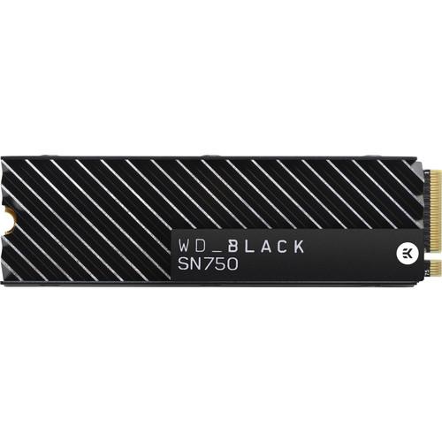 WD 1TB Black SN750 NVMe M.2 Internal SSD with Heatsink