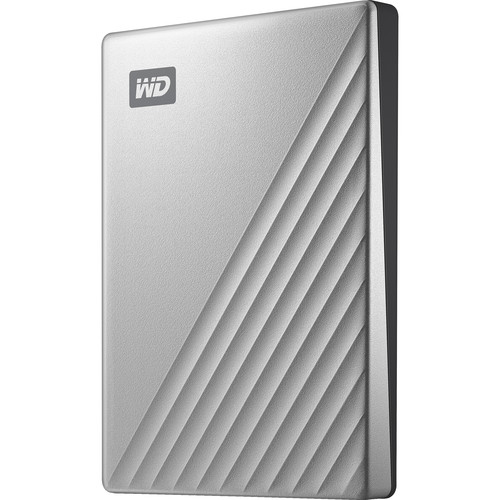 WD 2TB My Passport Ultra USB 3.0 Type-C External Hard Drive for Mac (Silver)