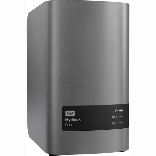 WD My Book Duo 4TB (2 x 2TB) Two-Bay USB 3.0 RAID Array