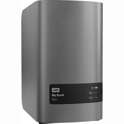 WD My Book Duo 6TB (2 x 3TB) Two-Bay USB 3.0 RAID Array