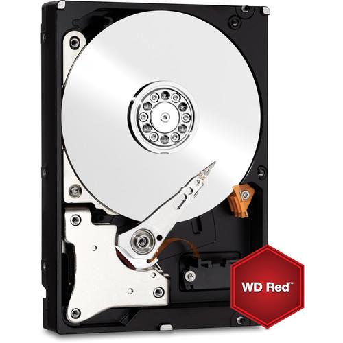 """WD 6TB Red 5400 rpm SATA III 3.5"""" Internal NAS HDD Retail Kit"""
