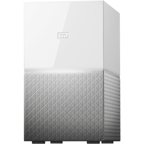 WD My Cloud Home Duo 4TB 2-Bay Personal Cloud NAS Server (2 x 2TB)
