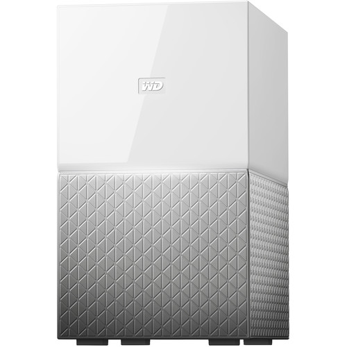 WD My Cloud Home Duo 6TB 2-Bay Personal Cloud NAS Server (2 x 3TB)