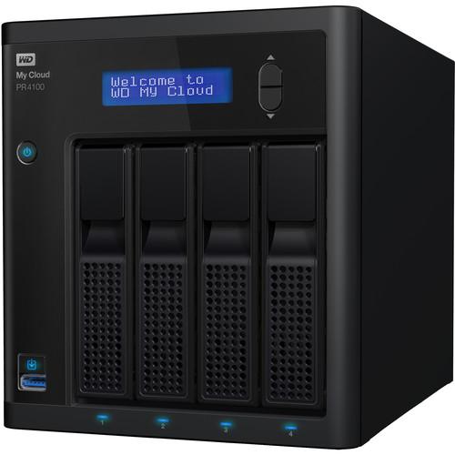 WD My Cloud Pro Series 40TB PR4100 4-Bay NAS Server (4 x 10TB)