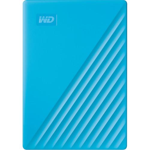 WD 4TB My Passport USB 3.2 Gen 1 External Hard Drive (2019, Sky)