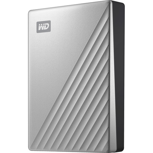 WD 4TB My Passport Ultra USB 3.0 Type-C External Hard Drive for Mac (Silver)