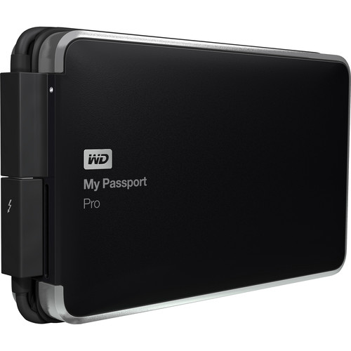 WD WDBRMP0020DBK-NESN 2TB Thunderbolt Portable Hard Drive