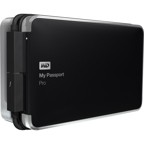 WD 4TB My Passport Pro Portable RAID Storage Drive