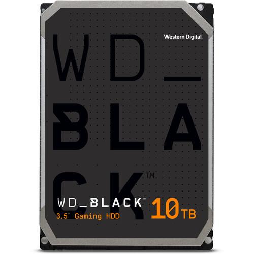 """WD 10TB WD_BLACK Performance SATA III 3.5"""" Internal Hard Drive"""
