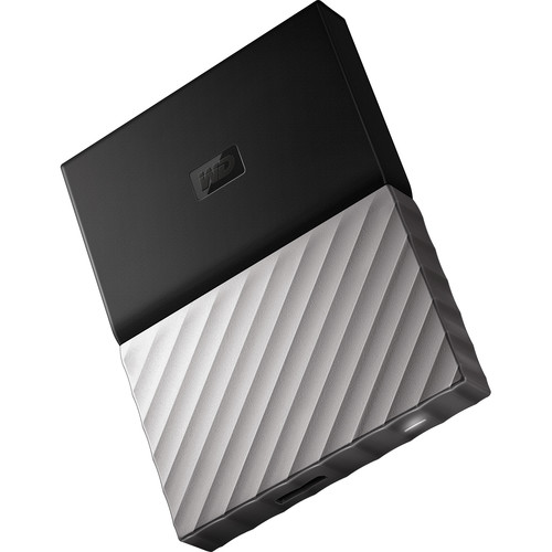 WD 1TB My Passport Ultra USB 3.0 External Hard Drive (White/Gold)