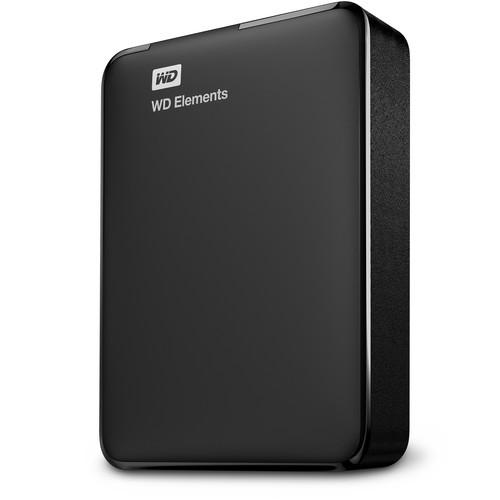 WD 2TB Elements Portable USB 3.0 External Hard Drive