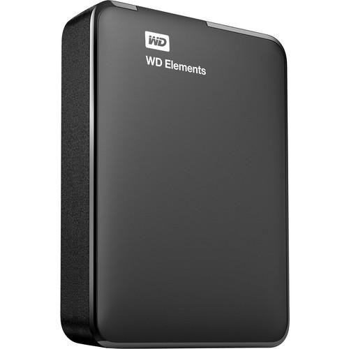 WD 3TB Elements Portable USB 3.0 External Hard Drive