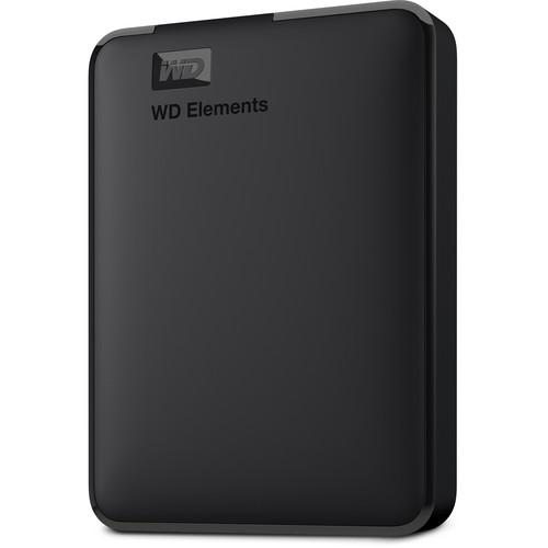 WD 5TB Elements Portable USB 3.0 External Hard Drive