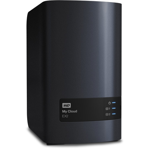 WD 8TB My Cloud EX2 2-Bay Personal Cloud Storage Server