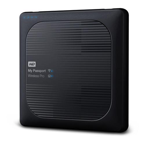 WD 1TB My Passport Wireless Pro USB 3.0 External Hard Drive