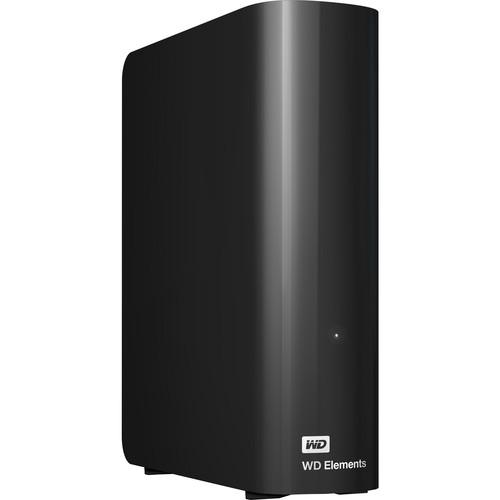 WD 4TB Elements Desktop USB 3.0 External Hard Drive