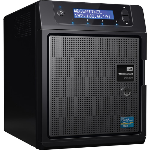 WD Sentinel DS6100 S-Series 8TB (2 x 4TB) Network Storage Plus Server