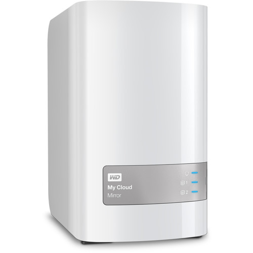 WD My Cloud Mirror (Gen 2) 4TB 2-Bay NAS Server (2 x 2TB)