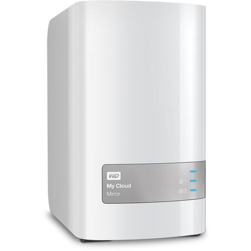 WD My Cloud Mirror (Gen 2) 12TB 2-Bay NAS Server (2 x 6TB)