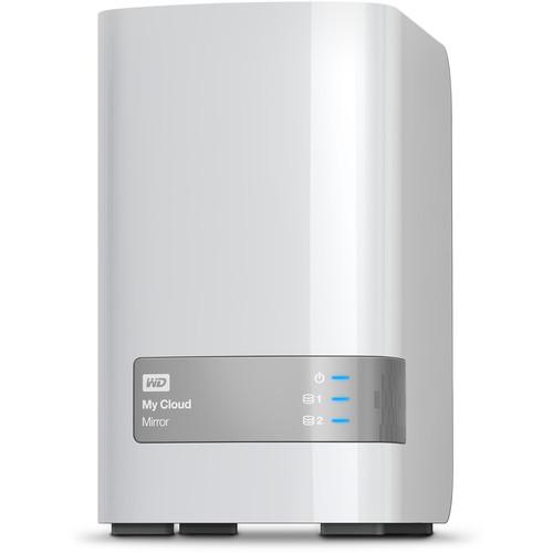 WD My Cloud Mirror (Gen 2) 16TB 2-Bay NAS Server (2 x 8TB)